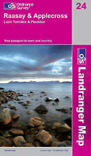 OS Landranger Map 24: Raasay and Applecross, Loch Torridon and Plockton (NEW)