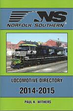 NORFOLK SOUTHERN 2014-2015 Locomotive Directory -- (OUT OF PRINT - NEW BOOK)