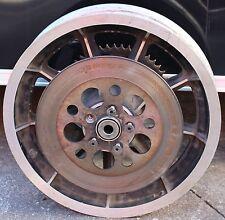 """Used Original Harley Wheel With Rotor & Sprocket 16"""" Wheel Spacers Mag (U-1782)"""