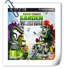PS3 PLANTS VS ZOMBIES: GARDEN WARFARE  Sony Playstation Games Action EA