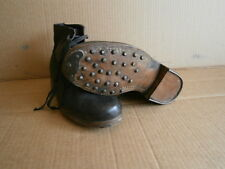 WW2 German Wehrmacht Soldiers leather shoe WWII