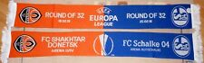 Schal + FC Schalke 04 vs FC Shakhtar Donetsk + Europa League + Sammleredition +