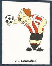 PANINI FUTBOL 93-94 SPANISH -#150-C.D.LOGRONES-CARTOON DOG