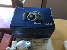 Canon ShotPower S2 IS 5PM 12x Optical Stabilized Zoom Silver UPC 013803051629