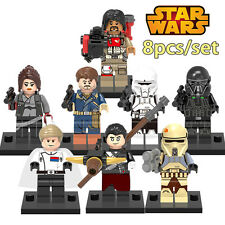 4 - Star Wars Rogue One - minifigures LEGO - PACK 8 - Jyn Erso - Cassian