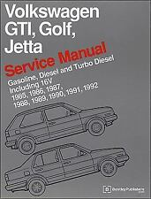 Volkswagen GTI, Golf, Jetta Service Manual 1985, 1986, 1987, 1988, 1989,...