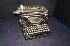 Antique 1920's Underwood Standard Manual Typewriter No. 5 Desktop No. 1908463-5