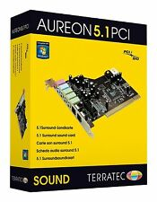Terratec Aureon 5.1 pci interne surround carte son