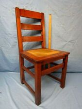 LIMBERT Antique Arts Crafts Mission Oak Chair Craftsman  NICE ! Free SHipping