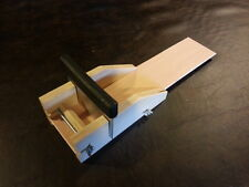 Our Adjustable LOAF SOAP MOLD, Bar Cutter and Blade , Wood miter miter box