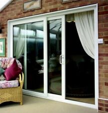 Brown upvc patio doors ebay for Brown upvc patio doors