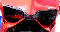 Ducati Panigale 1199 899 Headlight Lens Covers Shield Dark Tint MADE IN ENGLAND
