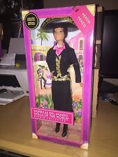 BARBIE COLLECTOR DOLLS OF THE WORLD MARIACHI BARBIE LIMITED EDITION(CASE FRESH)