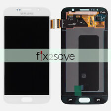 New White Samsung Galaxy S6 G920A G920T G920F LCD Display Touch Screen Digitizer