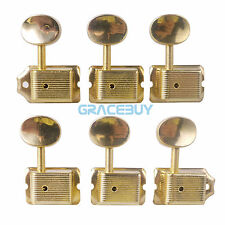 6R Electric Guitarra Tuning Llaves Vintage String Machine Heads for Strat Fender