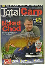 Total Carp Fishing Magazine. January, 2013. The Naked Chod. From Dusk Til Dawn.