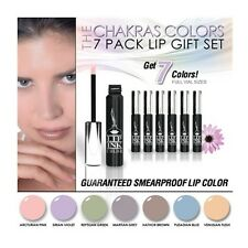LIP INK Chakra Colors 7 Pack Lip Stain Collection  smearproof waterproof vegan