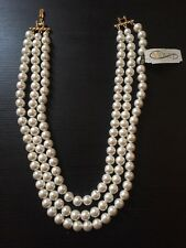 """Monet  Pearl Necklace 20"""" For Ladies"""