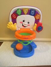 FISHER-PRICE - LAUGH & LEARN - LEARNING BASKETBALL HOOP ACTIVITY CENTER