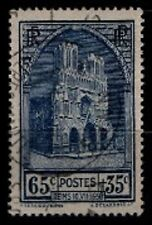CATHÉDRALE de REIMS, Oblitéré = Cote 13 € / Lot Timbre France n°399