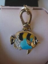 RARE JUICY COUTURE TROPICAL FISH CHARM WITH BOX