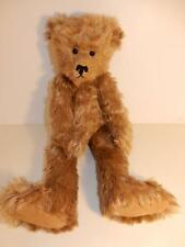 """VINTAGE ARTIST MOHAIR TEDDY BEAR MELODIE MALCOLM 19"""" HUMPBACK 5-WAY"""