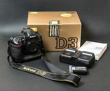 Nikon D D3 12.1MP Digital SLR Camera - Black (Body only)