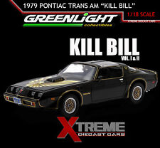 GREENLIGHT 12951 1:18 1979 PONTIAC FIREBIRD TRANS AM KILL BILL VOL 1&2