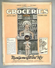 Montgomery Ward Grocery CATALOG - 1916 -- groceries, food -- Wards Catalog