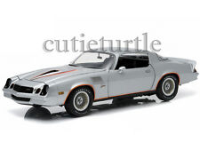 Greenlight 1978 Chevy Camaro Z/28 1:18 Silver with Orange Stripes 12900
