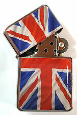 Wavy Flag UNION JACK Metal LIGHTER UK British Flag London England GB Souvenirs