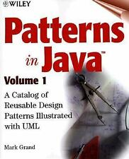 Patterns in Java, Volume 1, A Catalog of Reusable Design Patterns Illustrated wi