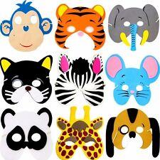 German Trendseller® - 8 Tiermasken Zoo ┃Geburtstag┃Kinder┃Party┃Mitgebsel
