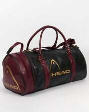 Head Monte Carlo Holdall Bag in Dark Green & Wine - 80s Casual Classic