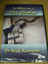 SHOFAR DVD - The Biblical Use of the Shofar! Messianic Jewish interest.  YESHUA