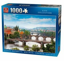 1000 Piece Jigsaw Puzzle - Czech Republic Moldau Prague River Landscape 05354