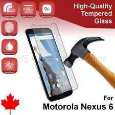 Premium Tempered Glass Screen Protector for Google Motorola Nexus 6 from Canada