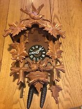 Vintage Black Forest Cuckoo Clock  W.Germany E. Schmeckenbecher 60's-70's L@@K!!