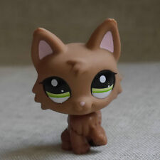 Pink ear Timber Wolf DOG Pubby LITTLEST PET SHOP LPS mini Figure #2440