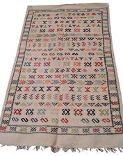 Moroccan Rug Carpet Kilim Kelim Berber Handmade Wooven Atlas Wool Authentic New