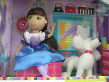 Karito Kids Play A Role I Am Girl Doll Dog Brush Playroom 7 Pieces Set 2011
