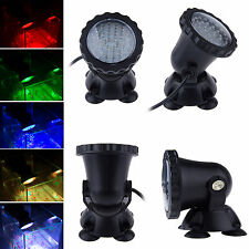 36 LED Multicolor Underwater Spot Light For Water Aquarium Garden Pond Fish Tank