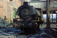 NCB Austerity 0-6-0st under screens Cadeby Colliery Rail Photo