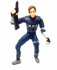 Vintage 90's Resident Evil  LEON KENNEDY horror zombie dead video game figure