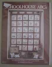 Vintage NOS Schoolhouse ABCs Collection to Stencil & Cross Stitch Pre-Cut # 11