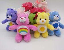 New 2015 Care Bears stuffed mini plush toy Keychain Bag Accessories 4pcs