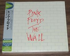 Still SEALED! PINK FLOYD Japan PROMO 2 x CD obi THE Wall CARD SLEEVE not mini LP