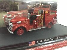 NEW DELPRADO 1941 GMC USA FIRE ENGINE TRUCK 1:87 TOY CAR