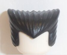 Lego Pointed Vampire Dracula Hair x 1 Black for Minifigure