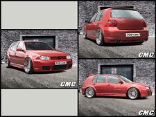 """VW Golf 4 (1J)  3-Türer  """"R32-Line"""" ABS Bodykit (Frontstoßstange+Heck+Schweller)"""
